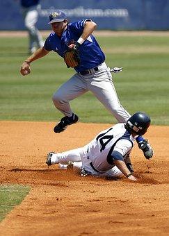 Baseball, Player, Sport, Ball, Uniform, Field, Athlete