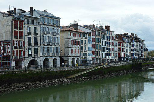 Houses, Wharf, Bayonne, Admiral Dock Bergeret