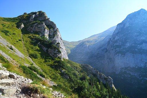 Mountains, Buried, Giewont, Mountain, Polish Tatras