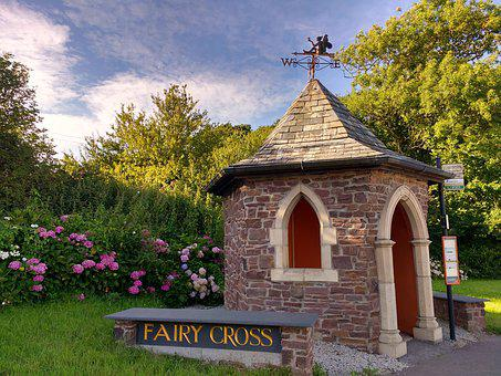 Fairy Cross, Devon, Bus Stop, Hamlet, Village