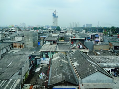 City, Indonesia, Tourism, Housing, Picture, Horizon