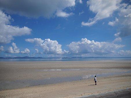 Sea, Hot, Wide, Grandeur, Japan, Okinawa, Coast