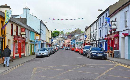 Road, Ireland, Irish, Village, Schull, County Cork