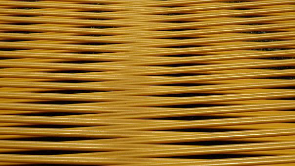 Deck Chair, Covering, Close Up, Plastic, Pattern