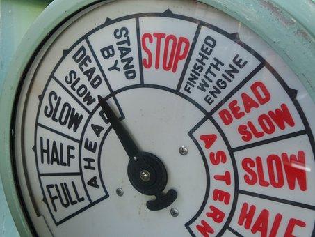 Boat, Speed, Vessel, Meter, Stop, Slow, Dead, Nautical