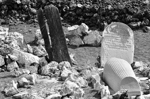 Ascension Island, Tombstone, Death, Disease, Tomb, Bury