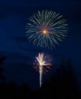 Fireworks, Rockets, Independence Day, July 4th