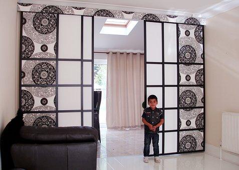 Room, Room Divider, Blinds, Interior, Design, Home