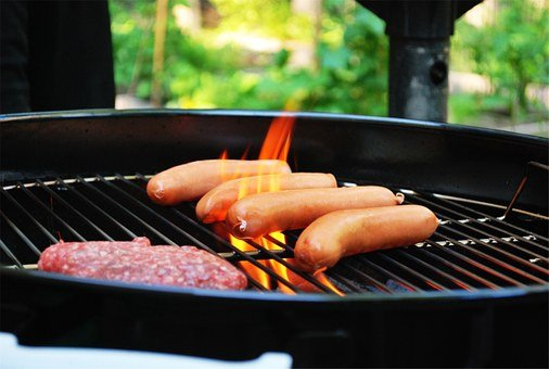 Barbecue, Bbq, Grill, Meat, Hot Dogs, Hamburgers, Food