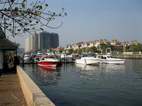 Ancol, Harbor, Jakarta, Indonesia, Ocean, Dock, Pier