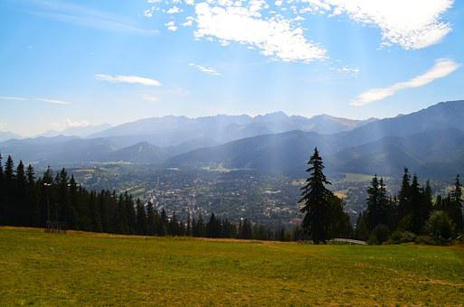 Poland, Buried, Polish Tatras, Mountains, Landscape