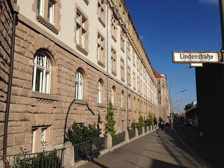 Linden Street, Berlin, Trademark Office, Patent Office