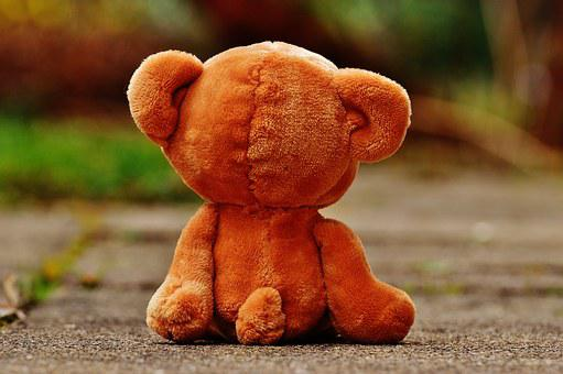 Bear, Teddy, Lonely, Love, Longing, Miss, Soft Toy