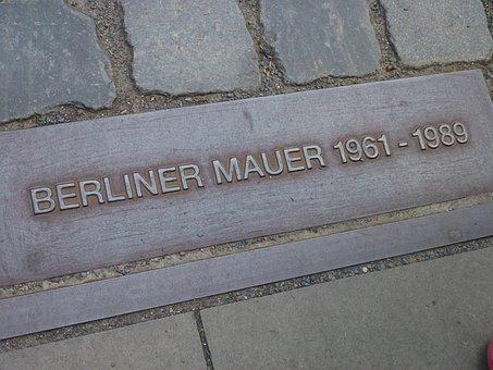 Berlin, Monument, Memory, Berlin Wall, Divided Germany