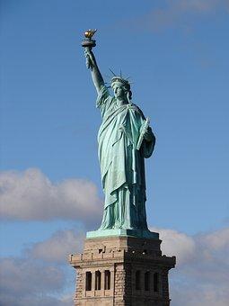 New York, Statue Of Liberty, New York City