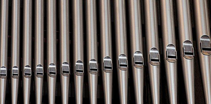 Organ, Pipes, Church, Music, Cathedral, Pitch, Note