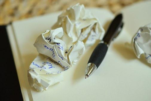 Leave, Notes, Paper Ball, Office, Paper, Note, Pen
