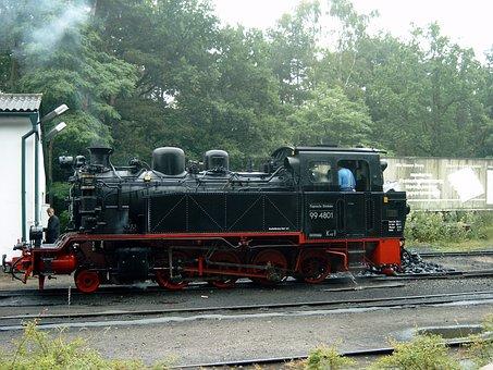 Steam Boilers, Rasender Roland, Railway