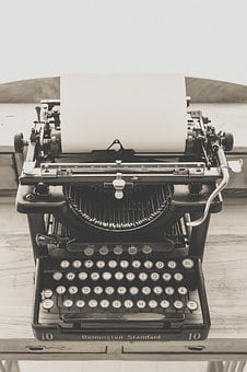 Typewriter, Vintage, Old, Vintage Typewriter, Retro