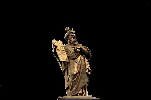 Moses, 10 Commandments, 10, Bids, Law, Golden Statue
