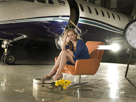 Aircraft, Women's, Fashion, Shower, Dress, Exposure
