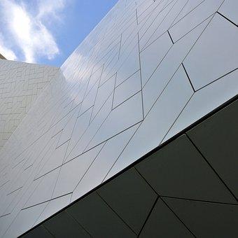 Amsterdam, Film Museum, Architecture, Facade, Pattern