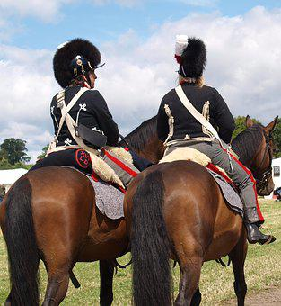 Army, War, Costume, Horses, Soldiers