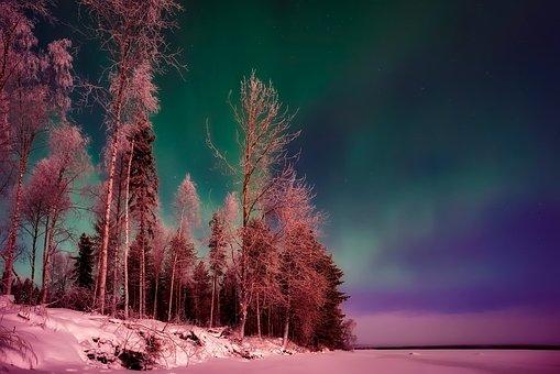 Finland, Northern Lights, Aurora Borealis, Phenomenon