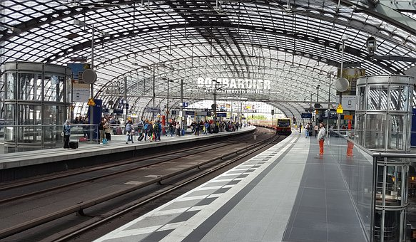 Berlin, Central Station, Germany
