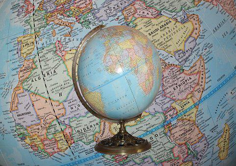 Globe, World, Map, Earth, Planet, Sphere, Geography
