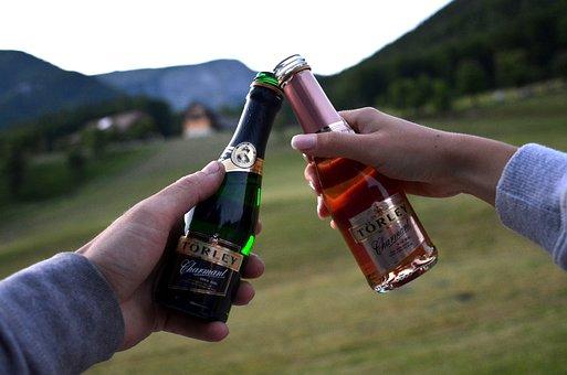 Celebration, Joy, Excursion, Love, Young, Champagne