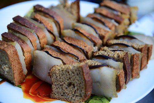 Fat, Shish Kebab, Bread, Dacha, Appetizer, Grill