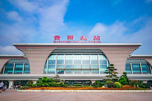 China, Guizhou, Guiyang, Guiyang North Railway Station