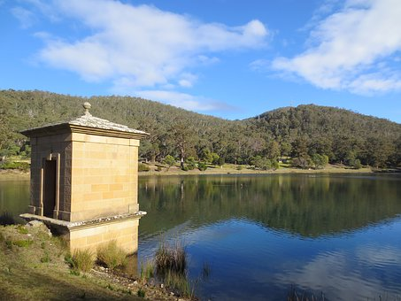 Hobart, Waterworks Reserve, Water, Tasmania, Reservoir