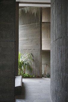 Le Corbusier, Ahmedabad, Modernism, Concrete, India