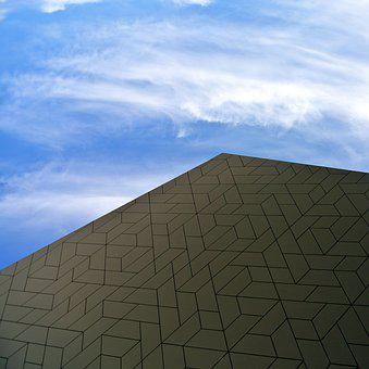 Amsterdam, Film Museum, Architecture, Modern, Facade