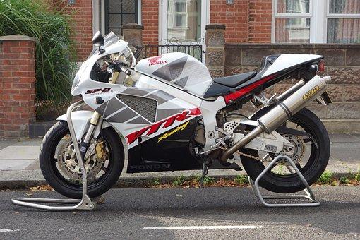 Motorcycle, Honda, Sp-2, Racing, Motorbike