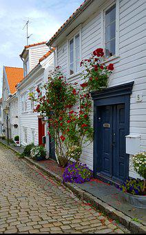 Architectural Style, Norway, Weis, Terraced House