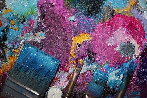 Paint, Brush, Multi Color, Art, Color, Creativity