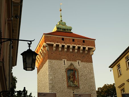 Monument, The Old Town, Architecture, Kraków, Poland