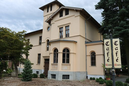 Cafe, Italian House, Italy, Window, City, Potsdam