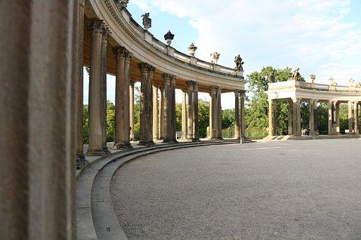 Closed Sanssouci, Potsdam, Roman, Sanssouci