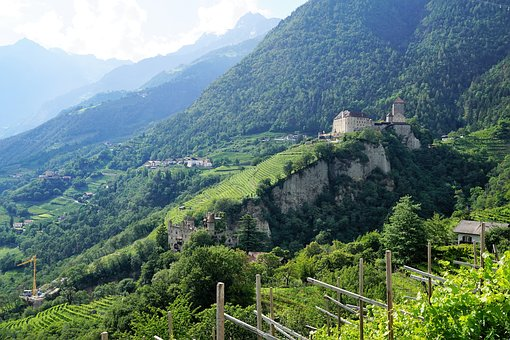 South Tyrol, Nature, Village, Italy, Mountains