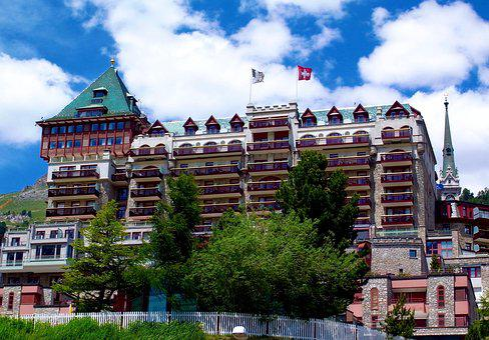 Switzerland, Hotel, St Moritz, Badrutt's, Palace