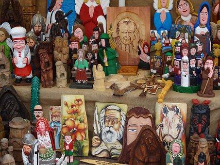 Wood-fibre Boards, Sculpture, Jesus, Art, Poland
