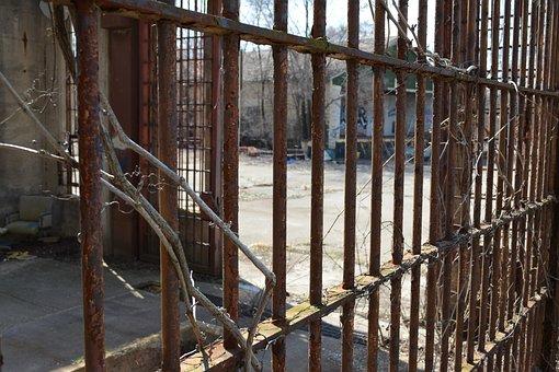 Prison, Joliet, Bar, Brown Prison