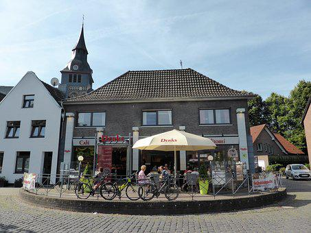 Terrace, Drinking Coffee, Relaxation, Bicycle Tour