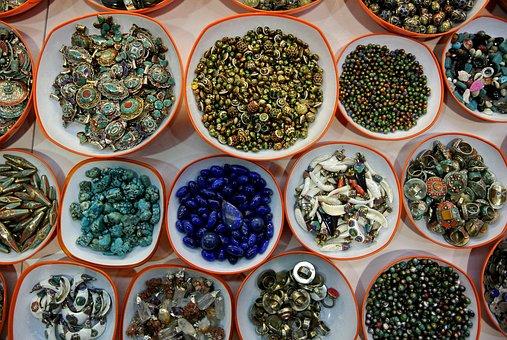 Grand Bazaar, Istanbul, Turkey, Knick Knack, Jewellery