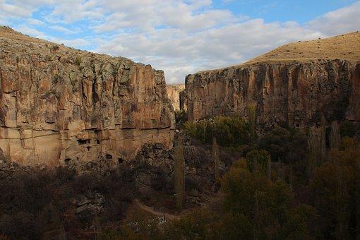 Cappadocia, Turkey, Panoramic Views, Nature, Landscape