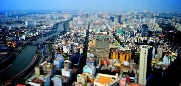 City, Architecture, Travel, Panoramic, Panorama